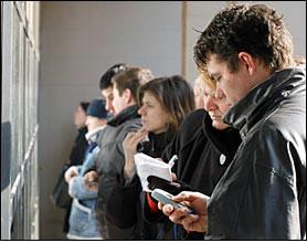 Krajem veljače u Hrvatskoj 317.625 nezaposlenih; u Istri 34.8% više nezaposlenih nego lani - Labin bilježi pad nezaposlenosti u odnosu na kraj 2009. godine