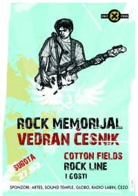 Ovog vikenda 3. Rock Memorijal Vedran Česnik