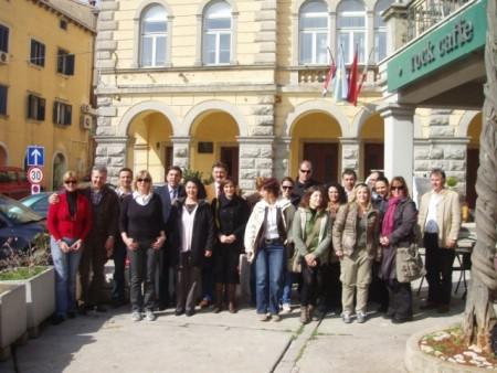 TZ Grada Labina danas je domaćin studijskoj grupi agencijskih djelatnika i predstavnika licenciranih vodiča
