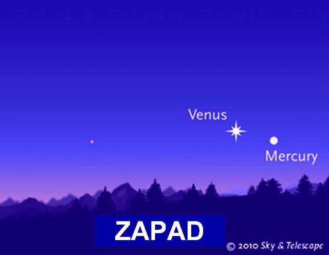 Bliski susreti planeta na nebu vidljivi i iz Istre