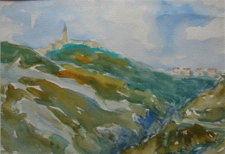 Izložba akvarela Quintina Bassania u Ninu