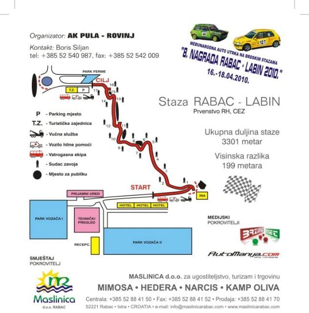 "Brdska auto utrka ""Rabac - Labin 2010"""