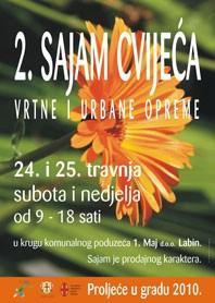Idući vikend Sajam cvijeća i vrtne te  urbane opreme