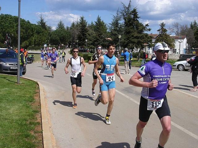 Labinjani sudjelovali na međunarodnom duatlon sprintu u Medulinu