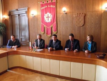 Gradonačelnik primio talijanskog konzula Fulvia Rustica