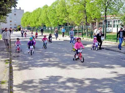 """Biciklijada za djecu """"Klincijada"""" povodom dana planete zemlje"""