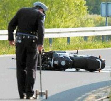 Labin: Motociklist izletio s ceste