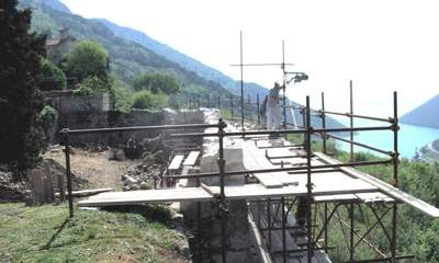 Obnova plominskih bedema - zahvat vrijedan 140 tisuća kuna većinom finacira Ministarstvo kulture