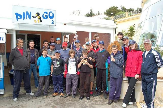 Galebovi juniori (U-16) održali klupsko natjecanje u ribolovu štapom s obale