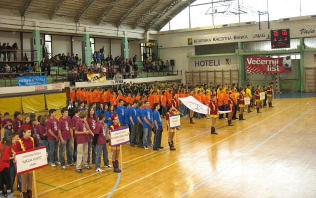 Službeno otvorene 2. Olimpijske igre osnovnih škola Labinštine