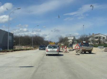 Obavijest o radovima na dionici ceste Labin-Štrmac  - prometnica zatvorena za sav promet ponedjeljak i utorak