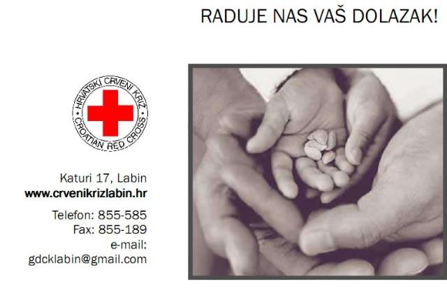 U četvrtak Dan otvorenih vrata Crvenog križa Labin