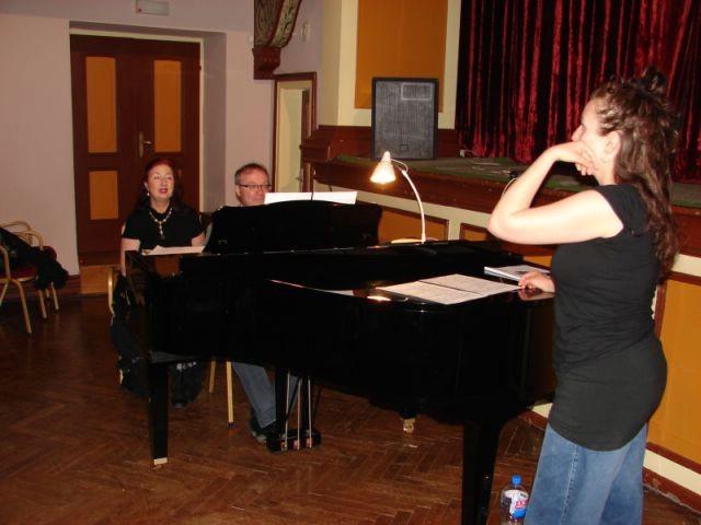 Njemački profesori u Labinu održavaju seminar pjevanja Masterclas 2010