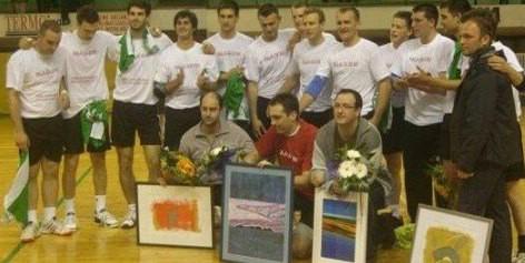Četvorka legendarnih rukometaša oprostila se od RU Mladi rudar i sportske karijere