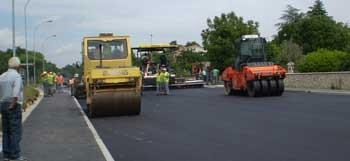 U tijeku polaganje  završnog sloja asfalta na dionici državne ceste D66 (Audio)