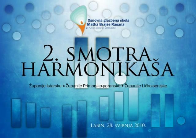Labin domaćin više od stotinu sudionika 2. Smotre harmonikaša Istarske, Primorsko-goranske i Ličko-senjske županije