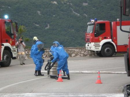 Labinski vatrogasci na međunarodnoj taktičko-pokaznoj vježbi