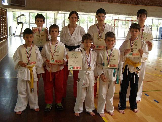 """Na tradicionalnom budokai natjecanju """"Pokal Umaga  2010."""" Labinjani odnijeli 8 odličja, od čega 5 zlatna"""