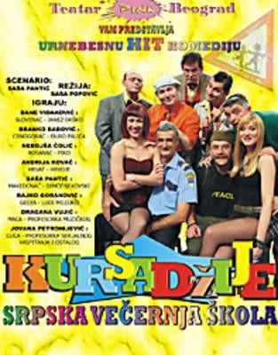 Odgođena predstava »Kursadžije« teatra Pink u kinu Labin za ponedjeljak 10.12.