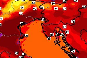 Za vikend obilje sunčanog vremena i vrlo toplo, do 29°C