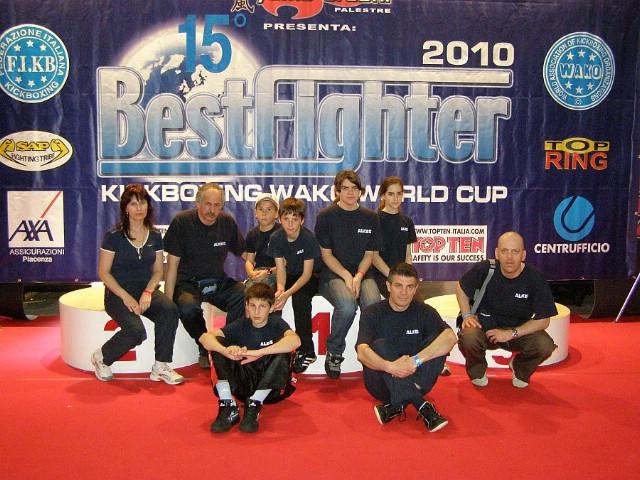"""Labinjanima četiri bronce na svjetskom kickboxing kupu """"Bestfighter 2010"""" održanom u Riminiju"""