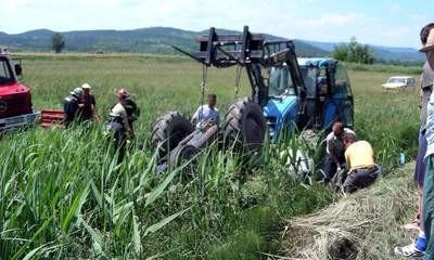 Čepićko polje: Eugen Načinović (63) poginuo u prevrtanju traktora