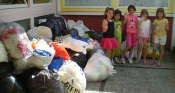 """Mališani Dječjeg vrtića """"Pjerina Verbanac"""" pokazali ekološku osjetljivost"""