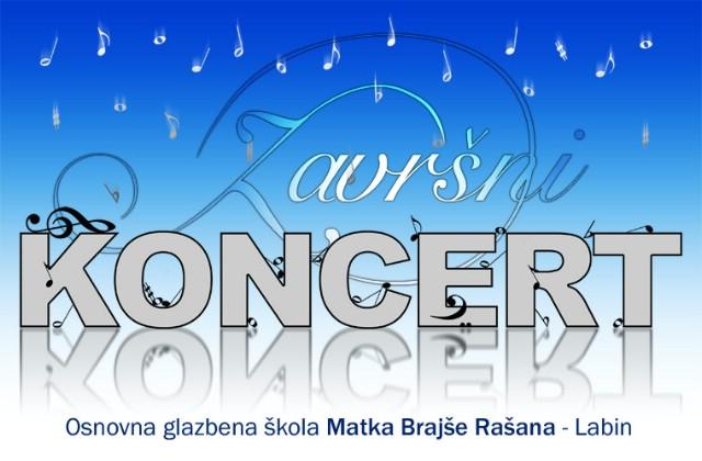 Završni koncert Osnovne glazbene škole Matka Brajše Rašana s gostima iz Praga
