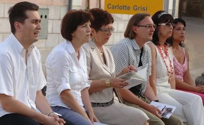 """Pozamašan broj labinskih pjesnika na manifestaciji """"Verši na šterni"""" u Vižinadi"""