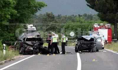 Prometnica Vozilići - Čepić: U izravnom sudaru teško ozlijeđen vozač iz Labina