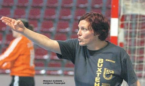 Labinska trenerska i rukometna legenda Adrijana Prosenjak po drugi put osvojila sa Salernom naslov prvakinja Italije