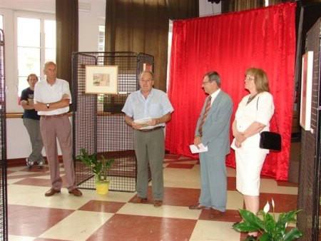 Otvorenje izložbe akvarela Quintina Bassanija u Sospirolu