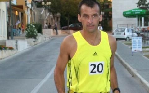 Ivan Stanić na 5. Noćnoj utrci na Bledu