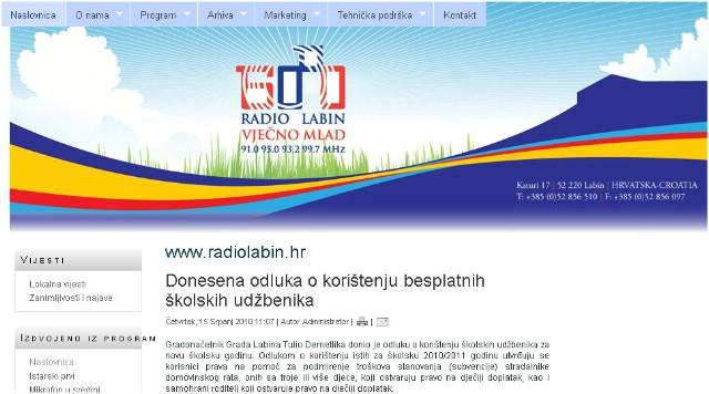 Labin dobio još jedan news portal!