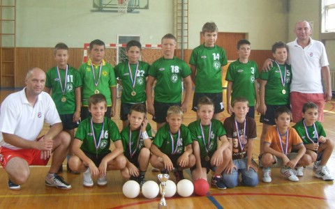 Mini rukometaši Labina prvaci županijske lige Istra