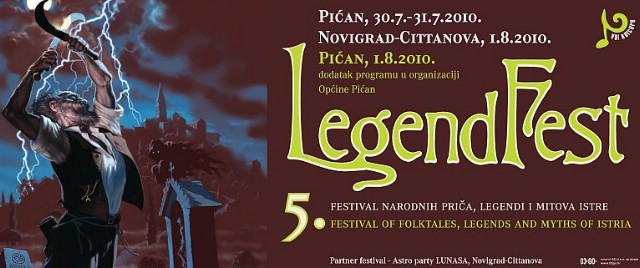 Peti Legendfest osim u Pićnu održava se i u Novigradu