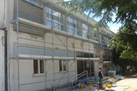 Obnavlja se fasada Osnovne škole Matije Vlačića
