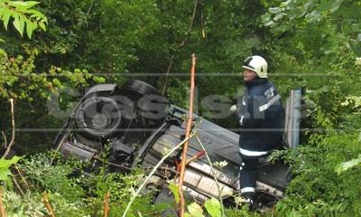 Raša: Lakše ozlijeđene u prevrtanju BMW-a