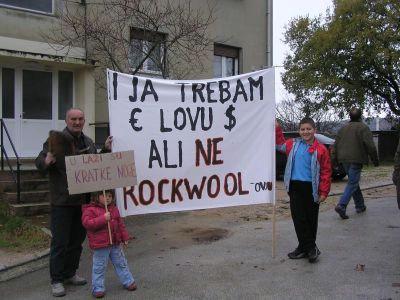 Wanted: 1000 kuna za plaćenog prosvjednika protiv Rockwoola