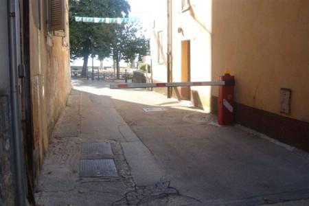 Od danas u funkciji rampa za ulazak vozila u starogradsku jezgru Labina