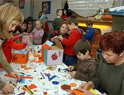 Mališani iz Pule izrađuju darove i za osobe sa mentalnom retardacijom iz Labina