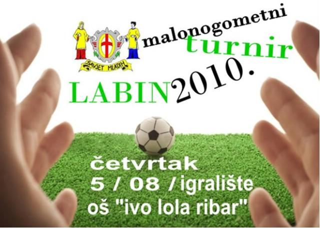 Humanitarni malonogometni turnir Savjeta mladih grada Labina za Saru Britvarević