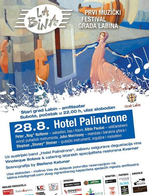 "La Bina: koncert austrijskih etno jazz glazbenika ""Hotel Palindrone"""