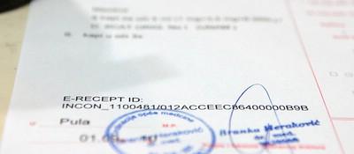 Informatizacija zdravstva: Počelo izdavanje e-recepata