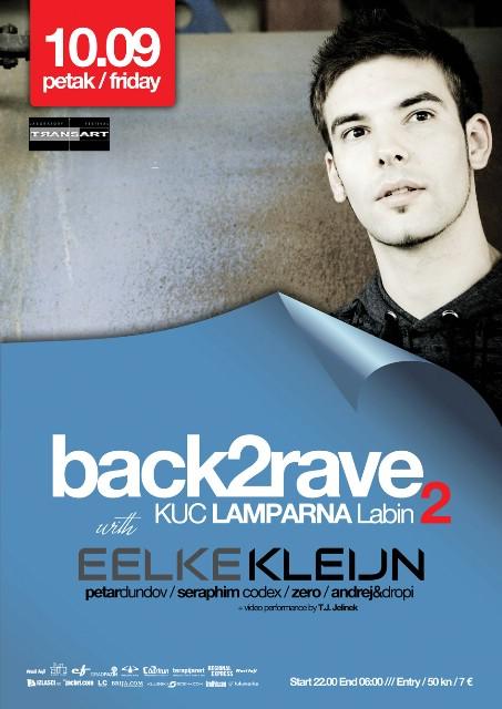Transart Festival presents: Back2Rave2 w/ Eelke Kleijn - NAGRADNA IGRA