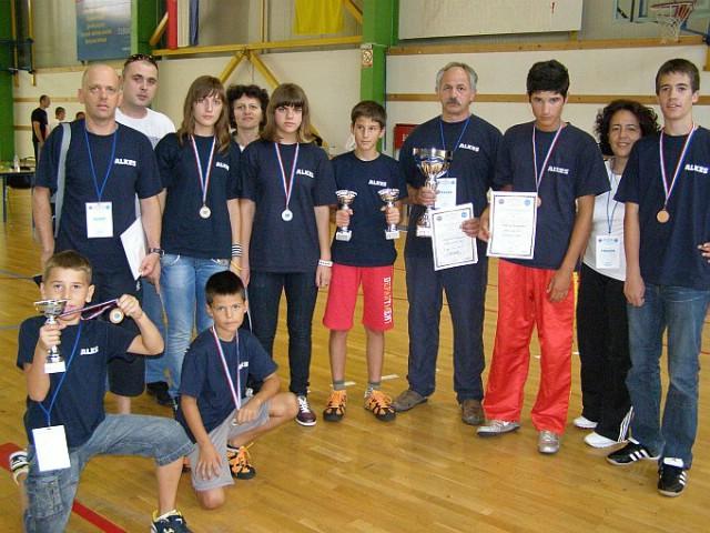 4.Međunarodni Kup u  kickboxingu `Jadran kup 2010.` - KBK Budokai Labin najuspješniji klub, a Marino Faraguna pojedinac