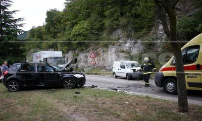 Ponovno prometna nesreća u Raši: troje ozlijeđenih