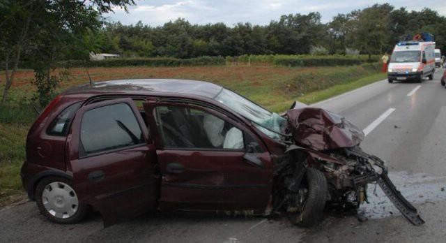 Labinjan skrivio prometnu nesreću u Marčani