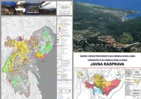 Poziv za javnu raspravu za Izmjenu i dopunu Prostornog plana uređenja Grada Labina i Urbanističkog plana uređenja naselja Rabac