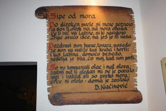 "Izložba radova Morisa Dagostina ""ECHOES"" @ Sipe caffe bar-gallery"